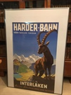 Originalplakat Harder-Bahn