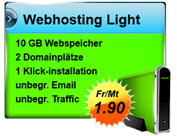 Webhosting Light