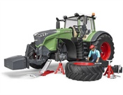 BRUDER FENDT 1050 VARIO MIT MECHANIKER...